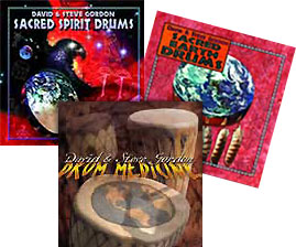 David and Steve Gordon's Sacred Drum Collection: New Age Music: MP3